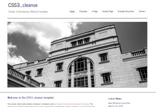 CSS3 cleanse